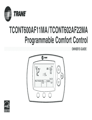Fillable online programmable comfort control fax email print fill online sciox Choice Image