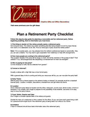 retirement speeches by retiree - Fill, Print & Download