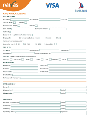 Naivas Card Application Form - naivas co