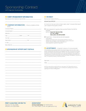 global shop sponsorship opportunities pdf