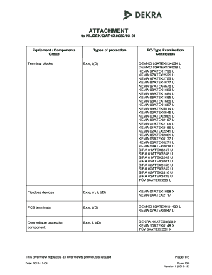 Fillable Online Attachment to QAR template - IECEx Certificates Fax ...