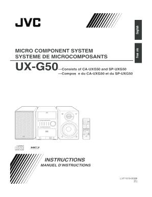 Fillable Online UX-G50 C   LVT1519-002A Fax Email Print - PDFfiller
