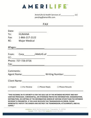 fax letterhead