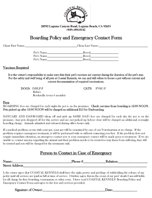 parent handbook child care center template