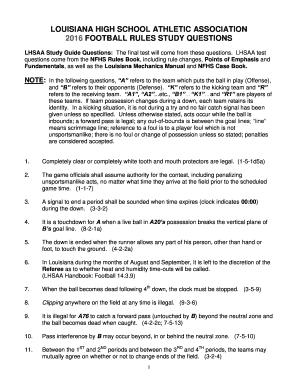 Nfhs soccer rule book pdf