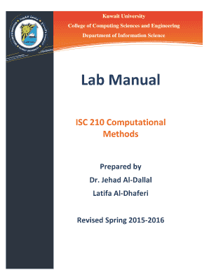 Fillable Online isc ku edu ISC 210 Lab-Manual pdf