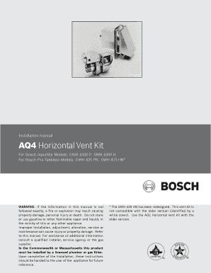 fillable online aq4 manual draft 7 24 aq4 manual draft 7 24 fax rh pdffiller com Bosch AquaStar 250Sx bosch aquastar 1600h parts