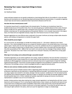 sample letter to landlord not renewing lease