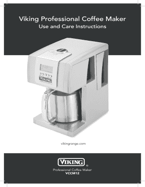Viking Coffee Maker Coffee Drinker - Viking coffee maker