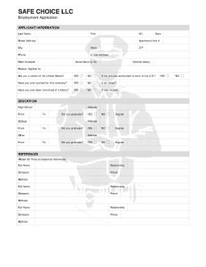 fillable online safe choice llc fax email print pdffiller