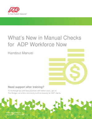 adp workforce now security guide - Edit Online, Fill Out