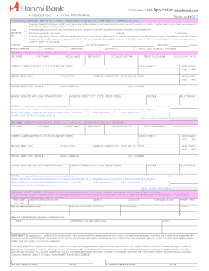 Printable bank auto loan Templates to Submit Online in PDF