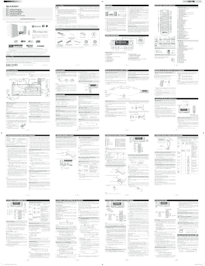 XL-HF202-302 OM SUK EN A1 indd Fill Online, Printable