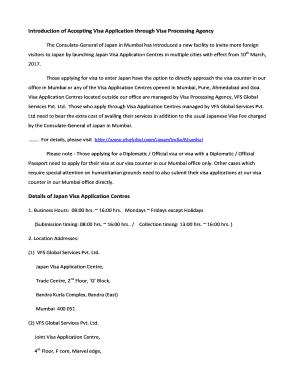 german vfs mumbai - Fillable & Printable Online Forms