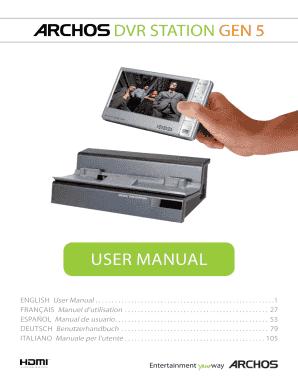 Gen5 manual 12605786 jpg array fillable online dvr station gen 5 fax email print pdffiller rh pdffiller com fandeluxe Images