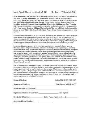 photograph about Skyzone Printable Waiver named sky zone sites - Edit, Print Obtain Fillable
