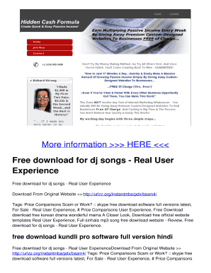 Fillable song mixer online - Edit, Print & Download Business