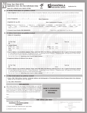 Fillable kyc documents axis bank - Edit, Print & Download