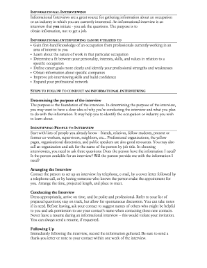 Interview invitation letter sample fill out online forms pdf informational interviewing stopboris Choice Image