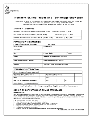 Fillable online 2016 northern stts registration form fax email rate this form solutioingenieria Choice Image