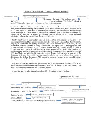 Letter of authorization background verification sample form edit letter of authorization attestation cases sample altavistaventures Choice Image
