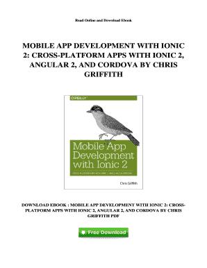 Fillable Online G395 Ebook Free Ebook Mobile App Development