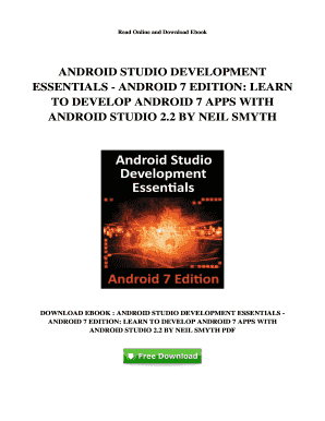 Fillable Online R600 Ebook Free PDF Android Studio
