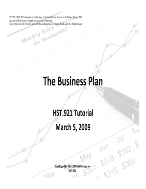 mit business plan template