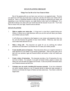 planning a funeral checklist fill out online download printable