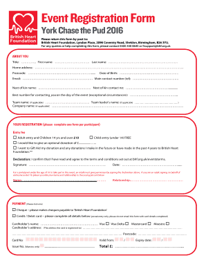 10 Printable Event Registration Form Template Word Fillable Samples In Pdf Word To Download Pdffiller