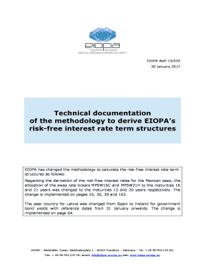fillable online risk free interest rate term structures fax email