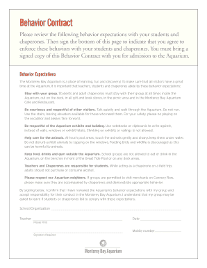 graphic relating to Behavior Contract Printable known as practices deal pdf - Printable Templates towards Fill Out