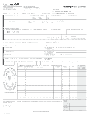 Printable anthem blue cross emergency room copay to Submit ...