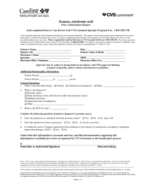 Submit Family Care Prior Authorization Form Pdf Forms And Document