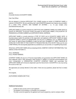 Complete editable sample letter of financial support for visa financial support for visa application businessvisahq sample business cover letter altavistaventures Choice Image