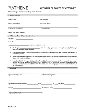 Printable revocation of power of attorney template - Fill ...