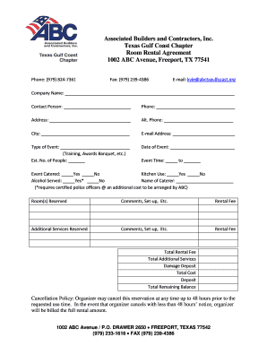 Printable room rental agreement texas - Edit, Fill Out & Download ...
