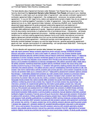 sample letter of settlement agreement letter edit print