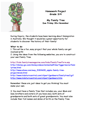 free family tree clipart - Edit, Print, Fill Out & Download