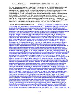 Fillable Online Da Form 4283 Fillable. Da Form 4283 Fillable Fax ...