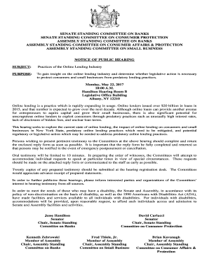 Fillable Online Notice of Public Hearing - Practices of the Online on deposition errata sheet form, sample notice of claim form, sample subpoena for deposition,