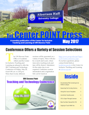 THECenter POINT Press - UWSP