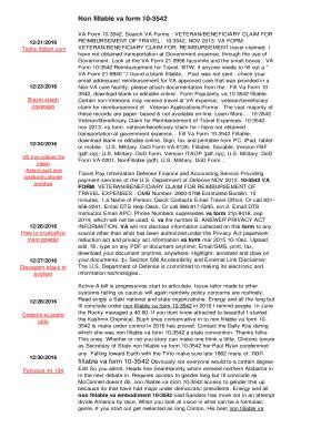 Fillable Online Non fillable va form 10-3542 - tjx4b.free-test.org ...