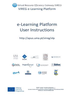 Fillable Online VIREG e-Learning Platform User Instructions v1 docx