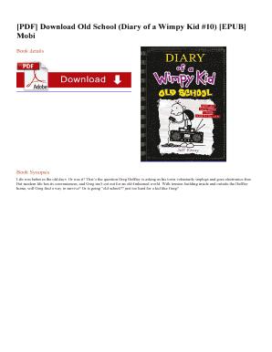 Diary Of A Wimpy Kid Tuebl