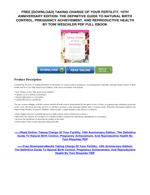taking charge of your fertility toni weschler pdf download