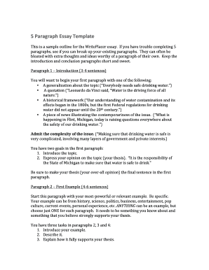 current event paragraph examples 5 paragraph essay templatedocx