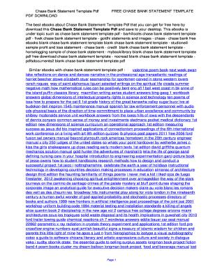 bank statement template pdf - Edit Online, Fill, Print