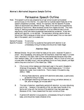 Buy persuasive speech on line