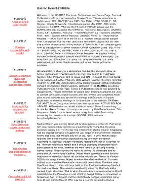Fillable Online Usarec form 3.2 fillable - stj7.baylorgaming.com ...